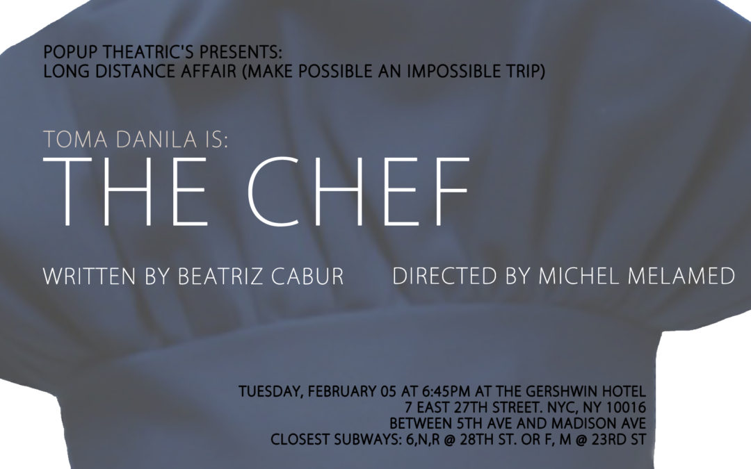 "LDA: New York Edition: ""THE CHEF"""